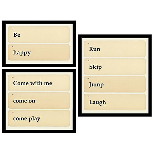 Smith & Co., Flashcards: Be, Play, Laugh