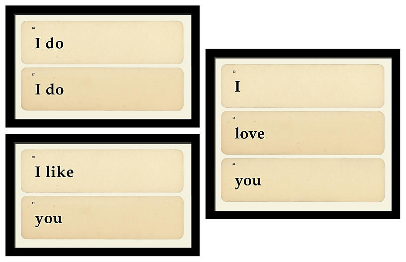 Smith & Co., Flashcards: I Do, Like, Love