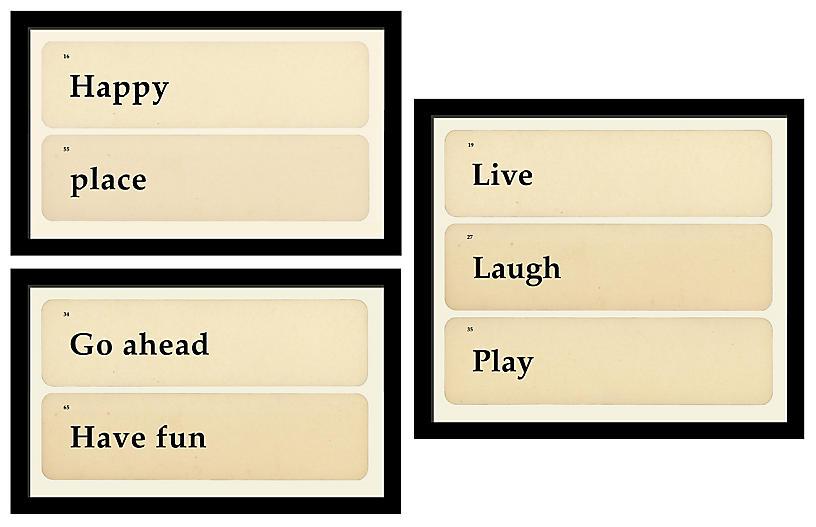 Smith & Co., Flashcards: Happy, Go, Live