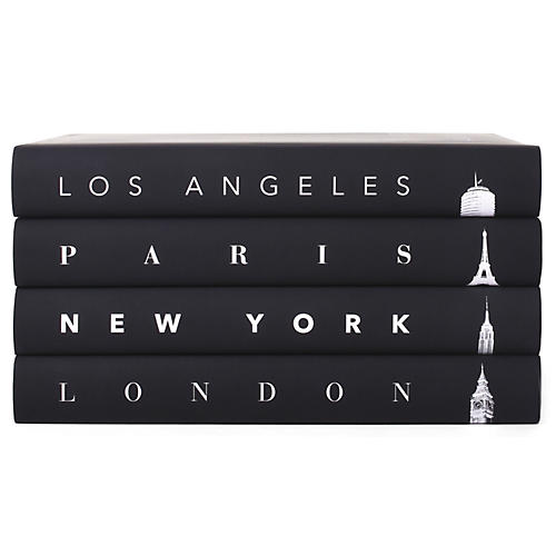 S/4 Taschen Cities Icons Book Collection