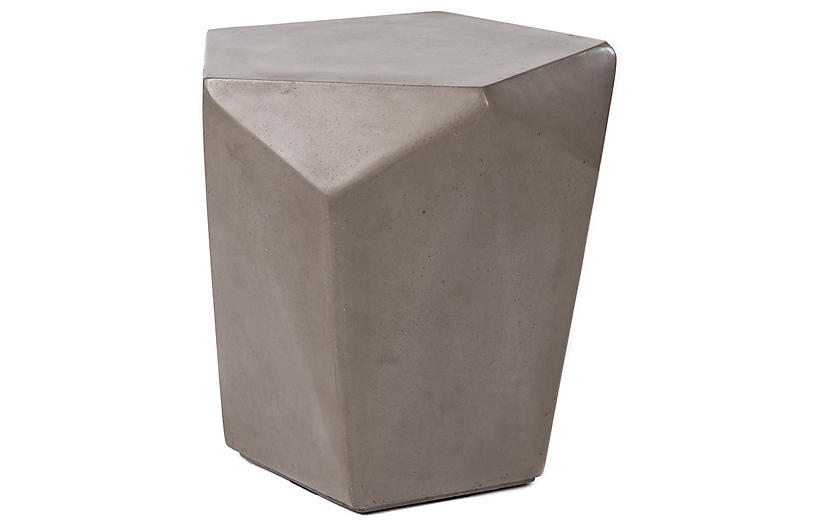 Malmo Side Table, Gray