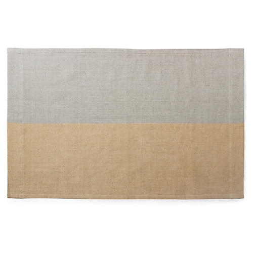 Karo Bath Mat, Sable