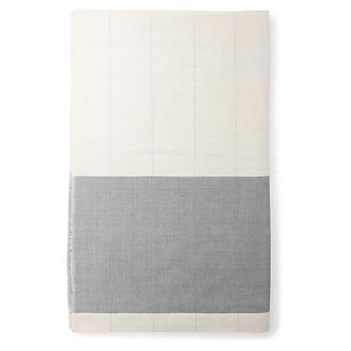 Karo Shower Curtain, Sable