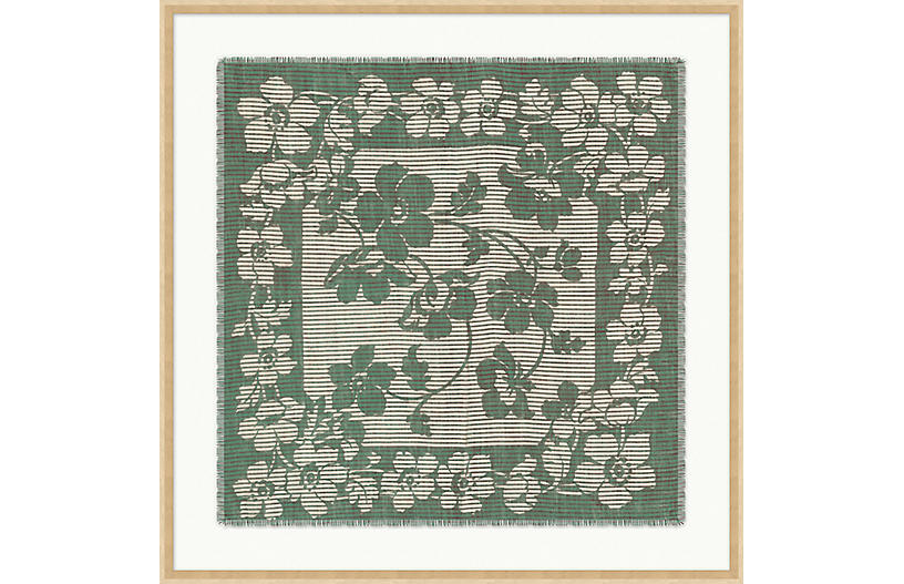 Seafoam Handkerchief