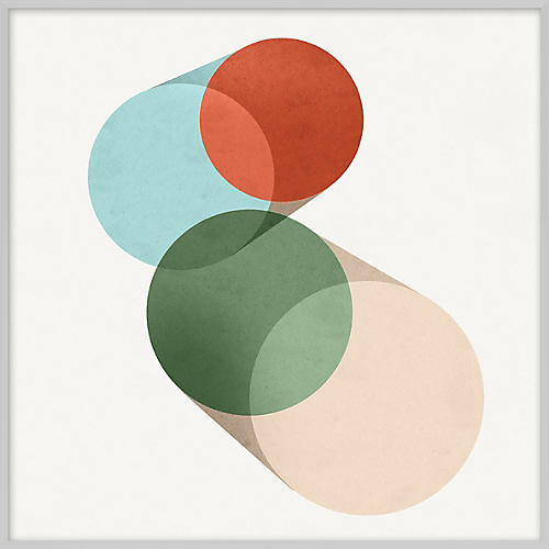 Pastel Geometric IV