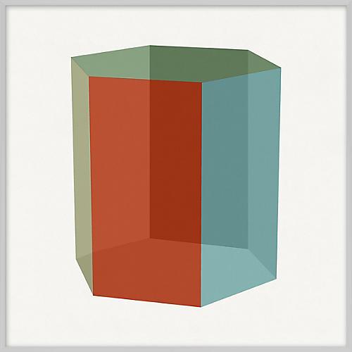 Pastel Geometric XIV