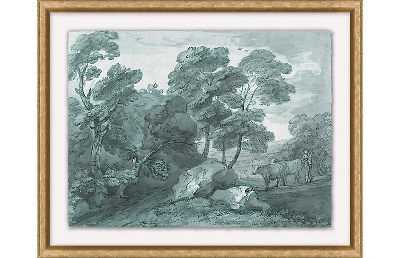 Wooded Landscape I