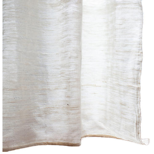 Milo Ethiopian Cotton Curtain, Natural