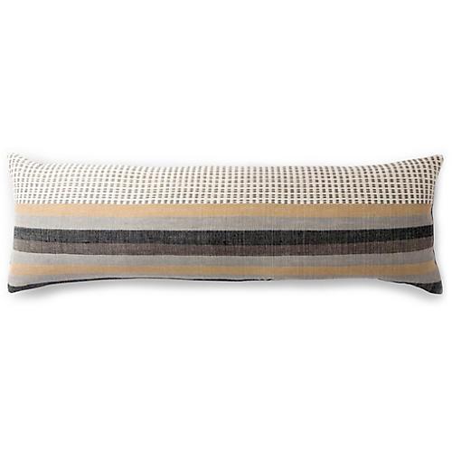 Suri 12x36 Lumbar Pillow, Sable