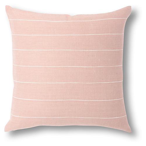 Melkam 18x18 Pillow, Dusty Rose