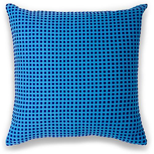 Hamar 18x18 Pillow, Cerulean
