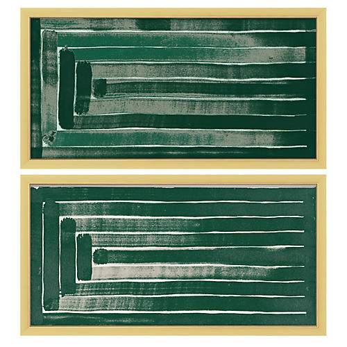 Emerald Square Set of 2