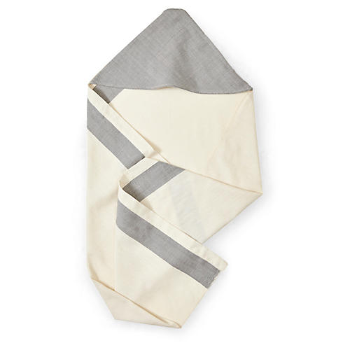 Aboosh Hooded Towel, Pumice