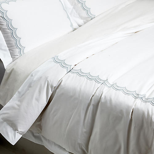 Evelyn Duvet Set, Silver
