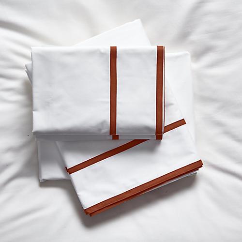 Collana Sheet Set, Rust
