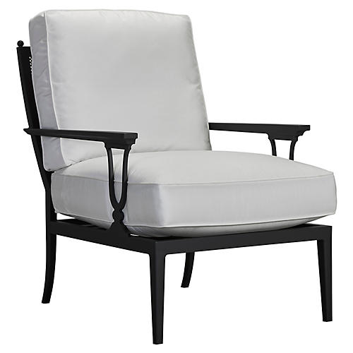 Winterthur Estate Mesh Lounge Chair, White