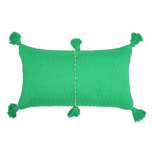 Antigua 12x20 Lumbar Pillow, Kelly Green