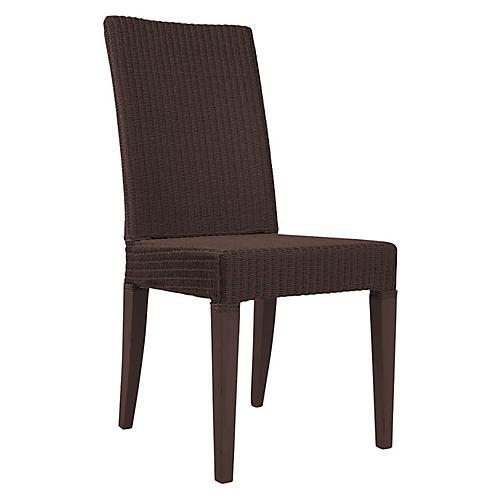 Edward Side Chair, Brown