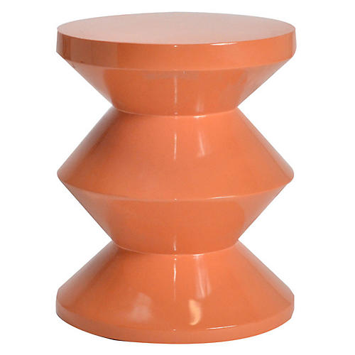 Totum Stool, Orange