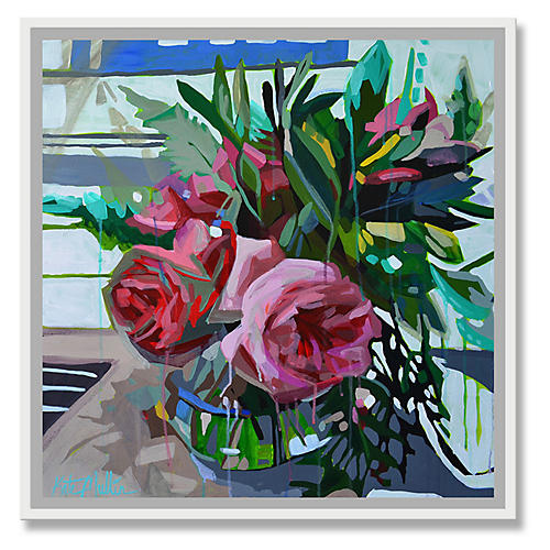 Kate Mullin, Teal & Pink