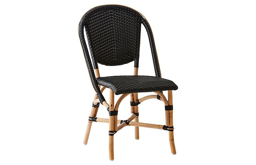 Sofie Bistro Side Chair, Black