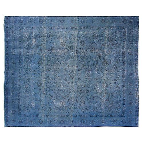 "9'10""x10'9"" Bali Rug, Blue"