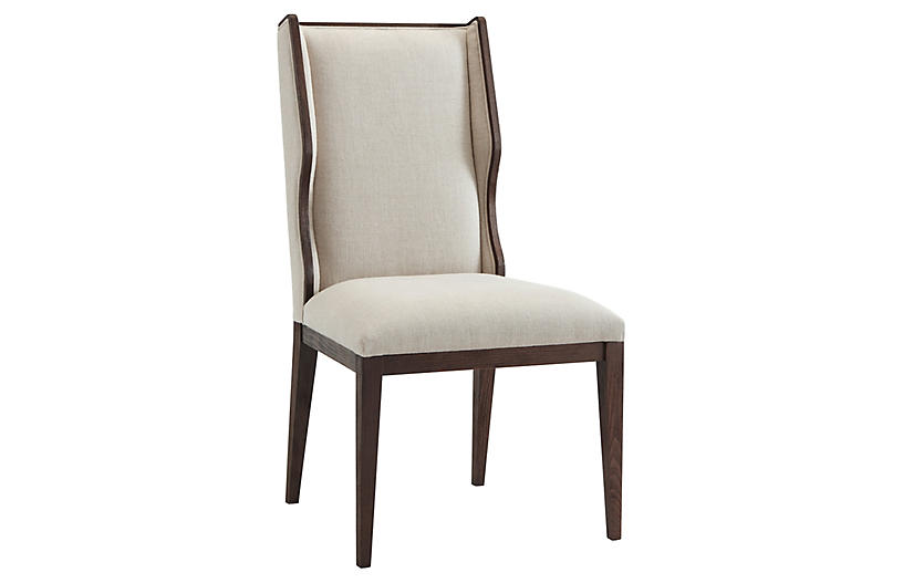 Della Side Chair, Cream