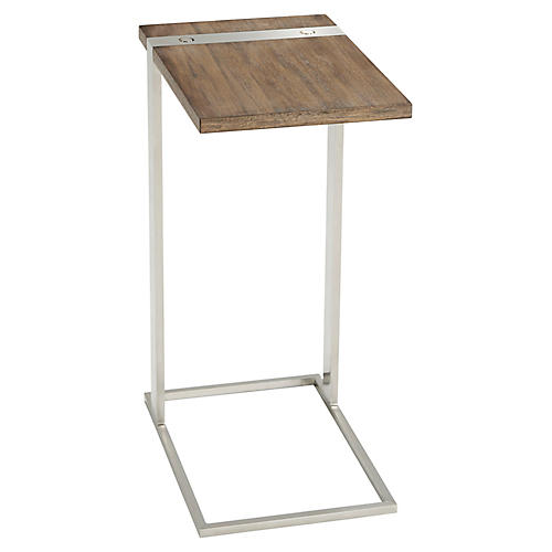 Bishop Cantilever Side Table, Natural