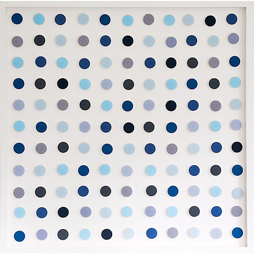 Dawn Wolfe, Blue Dot Square
