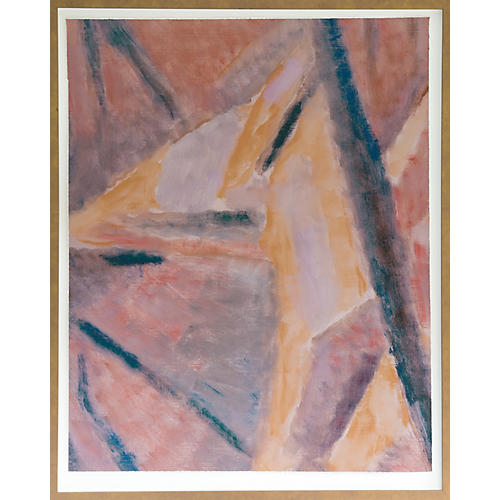 Dawn Wolfe, Pink Painting Abstract