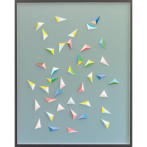 Dawn Wolfe, Candy Color Origami Collage