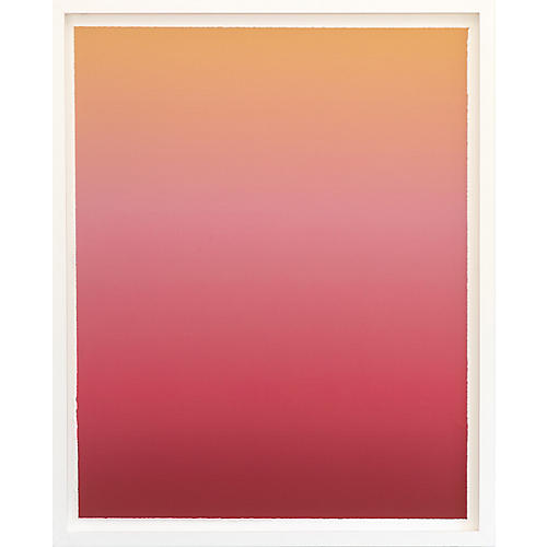 Dawn Wolfe, Sunset Ombré-White