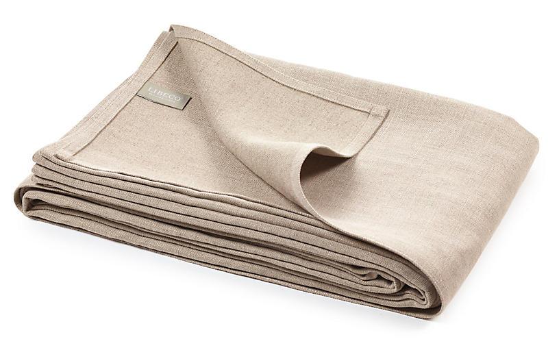 Napoli Vintage Blanket, Flax