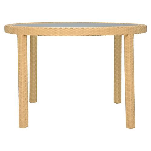 JANUSfiber Glass Dining Table, Natural