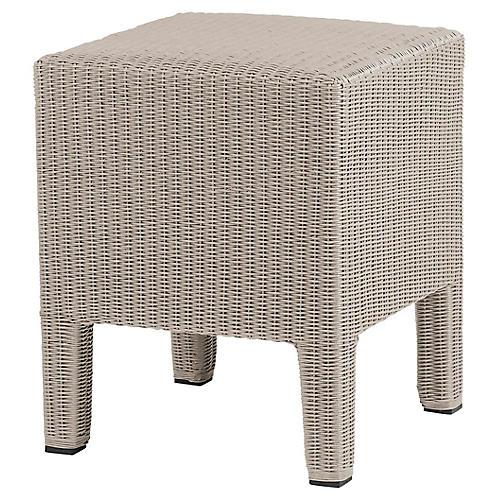 Vitali Side Table, Greige