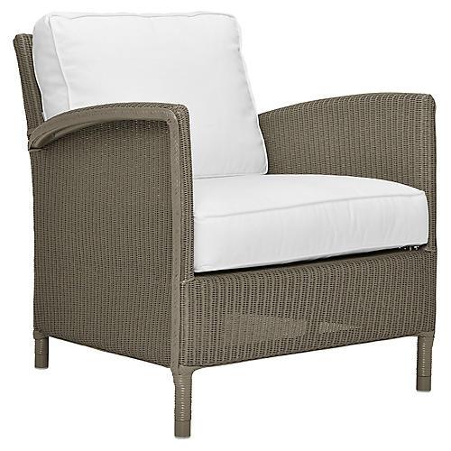 Deauville Lounge Chair, Bronze