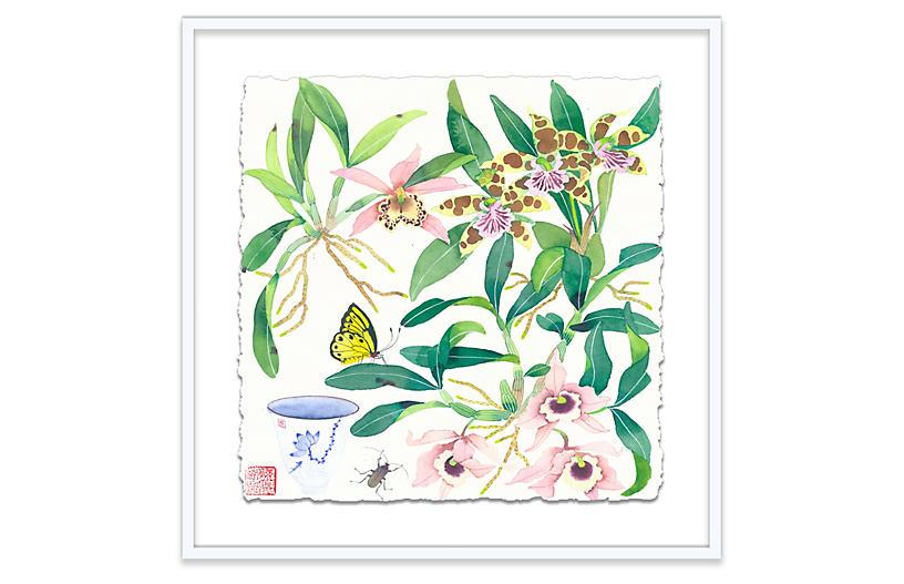 Gabby Malpas, Orchids & Teacup