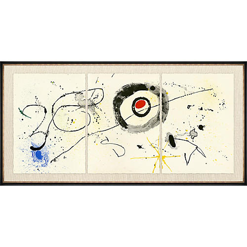 Miró Triptych