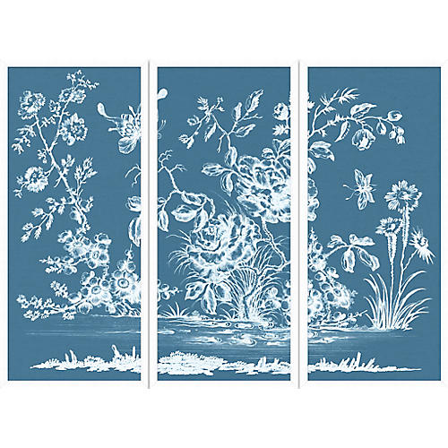 Chinoiserie Triptych
