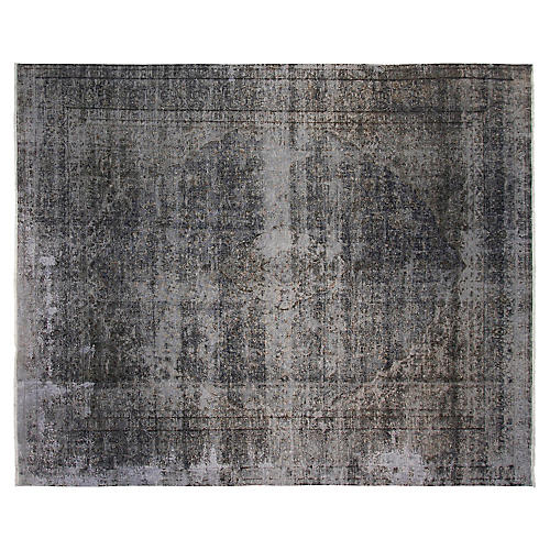 "9'6""x15' Jillian Rug, Gray"