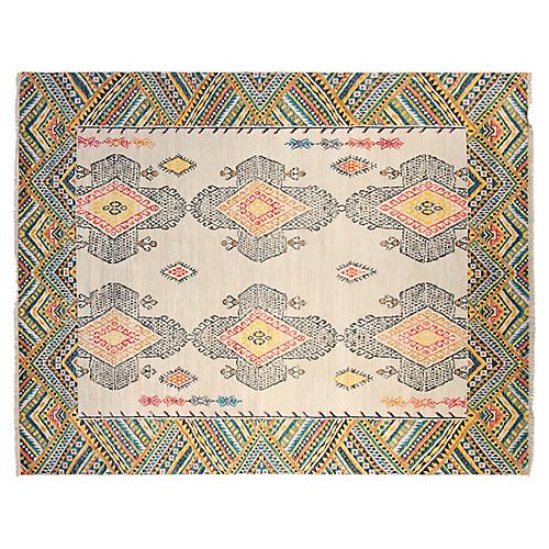 9'x12' Tristan Rug, Gray/Ivory