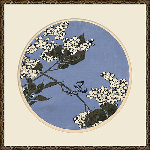 Cherry Blossom Woodblock III