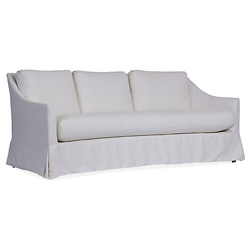 Baldwin Sofa, White