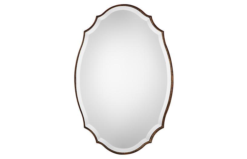 Hudson Wall Mirror, Gold