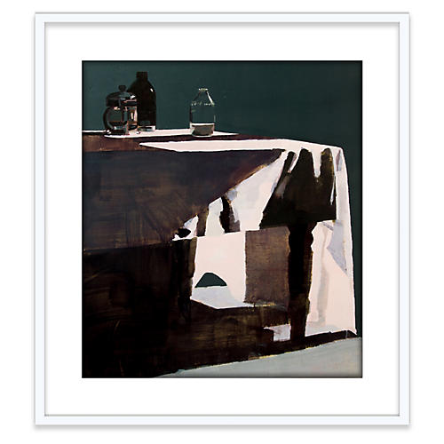 Susan Ashworth, Milk Bottle & Tablecloth