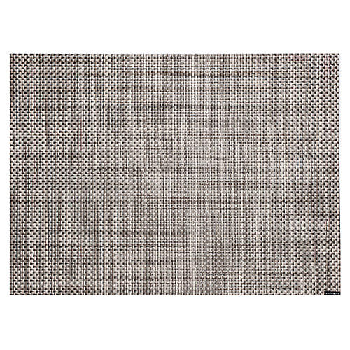 Basketweave Place Mat, Oyster