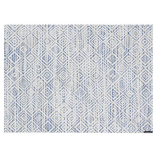 Mosaic Place Mat, Blue