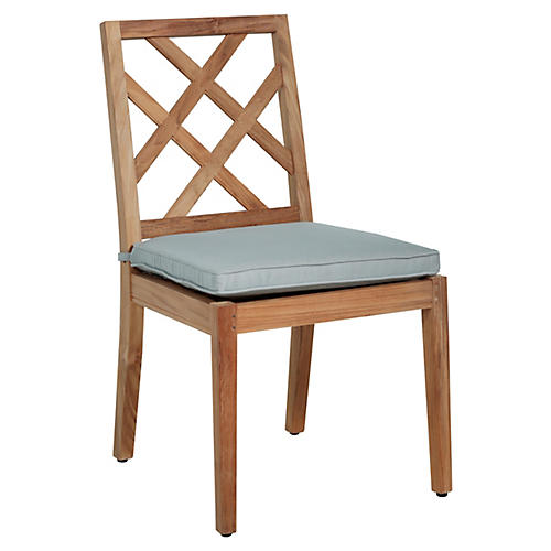 Haley Side Chair, Blue