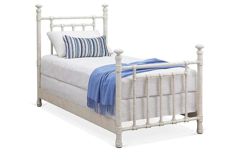 Bennett Kids' Bed, Rustic Ivory