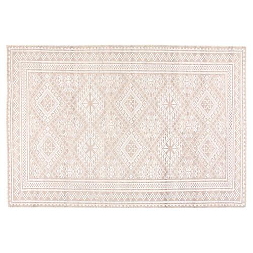 Adari Hand-Knotted Rug, Cream